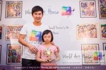 Malaysia Kota Damansara Petaling Jaya Kuala Lumpur Selangor Chinese New Year Charity Coloring Contest World Art House 世界艺术画室 and 1 Utama Shopping JinYeYe Effye Media B040