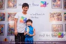 Malaysia Kota Damansara Petaling Jaya Kuala Lumpur Selangor Chinese New Year Charity Coloring Contest World Art House 世界艺术画室 and 1 Utama Shopping JinYeYe Effye Media B042