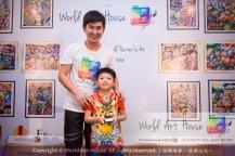 Malaysia Kota Damansara Petaling Jaya Kuala Lumpur Selangor Chinese New Year Charity Coloring Contest World Art House 世界艺术画室 and 1 Utama Shopping JinYeYe Effye Media B046