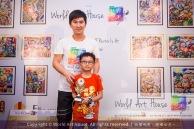 Malaysia Kota Damansara Petaling Jaya Kuala Lumpur Selangor Chinese New Year Charity Coloring Contest World Art House 世界艺术画室 and 1 Utama Shopping JinYeYe Effye Media B051