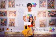 Malaysia Kota Damansara Petaling Jaya Kuala Lumpur Selangor Chinese New Year Charity Coloring Contest World Art House 世界艺术画室 and 1 Utama Shopping JinYeYe Effye Media B053