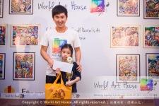 Malaysia Kota Damansara Petaling Jaya Kuala Lumpur Selangor Chinese New Year Charity Coloring Contest World Art House 世界艺术画室 and 1 Utama Shopping JinYeYe Effye Media B055