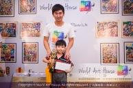 Malaysia Kota Damansara Petaling Jaya Kuala Lumpur Selangor Chinese New Year Charity Coloring Contest World Art House 世界艺术画室 and 1 Utama Shopping JinYeYe Effye Media B057