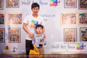 Malaysia Kota Damansara Petaling Jaya Kuala Lumpur Selangor Chinese New Year Charity Coloring Contest World Art House 世界艺术画室 and 1 Utama Shopping JinYeYe Effye Media B058