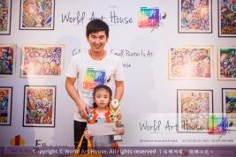 Malaysia Kota Damansara Petaling Jaya Kuala Lumpur Selangor Chinese New Year Charity Coloring Contest World Art House 世界艺术画室 and 1 Utama Shopping JinYeYe Effye Media B061