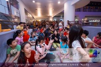 Malaysia Kota Damansara Petaling Jaya Kuala Lumpur Selangor Chinese New Year Charity Coloring Contest World Art House 世界艺术画室 and 1 Utama Shopping JinYeYe Effye Media B063