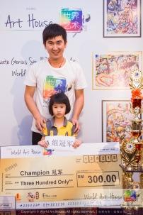 Malaysia Kota Damansara Petaling Jaya Kuala Lumpur Selangor Chinese New Year Charity Coloring Contest World Art House 世界艺术画室 and 1 Utama Shopping JinYeYe Effye Media B069