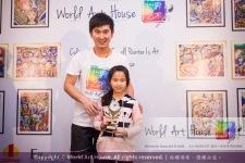 Malaysia Kota Damansara Petaling Jaya Kuala Lumpur Selangor Chinese New Year Charity Coloring Contest World Art House 世界艺术画室 and 1 Utama Shopping JinYeYe Effye Media B078