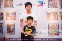 Malaysia Kota Damansara Petaling Jaya Kuala Lumpur Selangor Chinese New Year Charity Coloring Contest World Art House 世界艺术画室 and 1 Utama Shopping JinYeYe Effye Media B079
