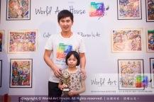 Malaysia Kota Damansara Petaling Jaya Kuala Lumpur Selangor Chinese New Year Charity Coloring Contest World Art House 世界艺术画室 and 1 Utama Shopping JinYeYe Effye Media B081