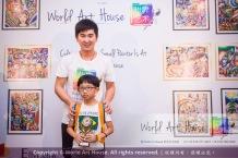 Malaysia Kota Damansara Petaling Jaya Kuala Lumpur Selangor Chinese New Year Charity Coloring Contest World Art House 世界艺术画室 and 1 Utama Shopping JinYeYe Effye Media B082