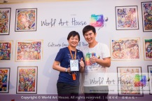 Malaysia Kota Damansara Petaling Jaya Kuala Lumpur Selangor Chinese New Year Charity Coloring Contest World Art House 世界艺术画室 and 1 Utama Shopping JinYeYe Effye Media B083