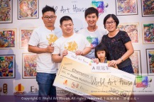 Malaysia Kota Damansara Petaling Jaya Kuala Lumpur Selangor Chinese New Year Charity Coloring Contest World Art House 世界艺术画室 and 1 Utama Shopping JinYeYe Effye Media B085