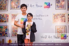 Malaysia Kota Damansara Petaling Jaya Kuala Lumpur Selangor Chinese New Year Charity Coloring Contest World Art House 世界艺术画室 and 1 Utama Shopping JinYeYe Effye Media B087
