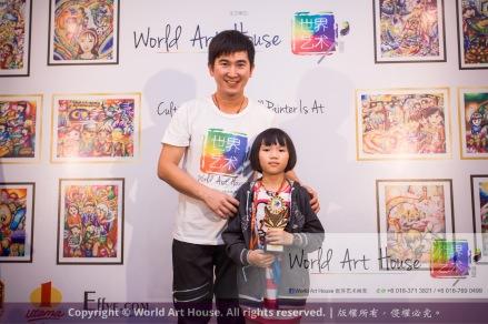 Malaysia Kota Damansara Petaling Jaya Kuala Lumpur Selangor Chinese New Year Charity Coloring Contest World Art House 世界艺术画室 and 1 Utama Shopping JinYeYe Effye Media B089
