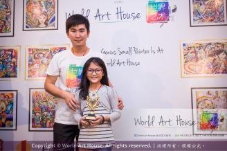 Malaysia Kota Damansara Petaling Jaya Kuala Lumpur Selangor Chinese New Year Charity Coloring Contest World Art House 世界艺术画室 and 1 Utama Shopping JinYeYe Effye Media B093