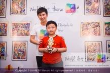 Malaysia Kota Damansara Petaling Jaya Kuala Lumpur Selangor Chinese New Year Charity Coloring Contest World Art House 世界艺术画室 and 1 Utama Shopping JinYeYe Effye Media B096
