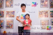 Malaysia Kota Damansara Petaling Jaya Kuala Lumpur Selangor Chinese New Year Charity Coloring Contest World Art House 世界艺术画室 and 1 Utama Shopping JinYeYe Effye Media B097
