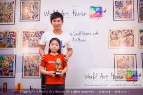 Malaysia Kota Damansara Petaling Jaya Kuala Lumpur Selangor Chinese New Year Charity Coloring Contest World Art House 世界艺术画室 and 1 Utama Shopping JinYeYe Effye Media B098