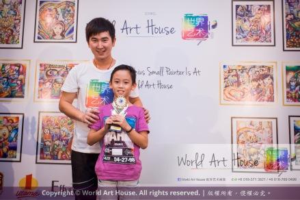 Malaysia Kota Damansara Petaling Jaya Kuala Lumpur Selangor Chinese New Year Charity Coloring Contest World Art House 世界艺术画室 and 1 Utama Shopping JinYeYe Effye Media C001