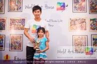 Malaysia Kota Damansara Petaling Jaya Kuala Lumpur Selangor Chinese New Year Charity Coloring Contest World Art House 世界艺术画室 and 1 Utama Shopping JinYeYe Effye Media C003