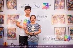Malaysia Kota Damansara Petaling Jaya Kuala Lumpur Selangor Chinese New Year Charity Coloring Contest World Art House 世界艺术画室 and 1 Utama Shopping JinYeYe Effye Media C006