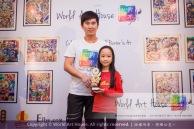 Malaysia Kota Damansara Petaling Jaya Kuala Lumpur Selangor Chinese New Year Charity Coloring Contest World Art House 世界艺术画室 and 1 Utama Shopping JinYeYe Effye Media C007