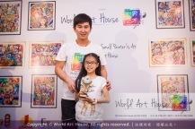 Malaysia Kota Damansara Petaling Jaya Kuala Lumpur Selangor Chinese New Year Charity Coloring Contest World Art House 世界艺术画室 and 1 Utama Shopping JinYeYe Effye Media C008
