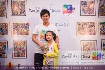 Malaysia Kota Damansara Petaling Jaya Kuala Lumpur Selangor Chinese New Year Charity Coloring Contest World Art House 世界艺术画室 and 1 Utama Shopping JinYeYe Effye Media C010