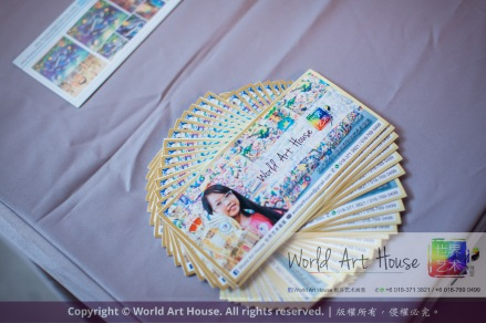 Malaysia Kota Damansara Petaling Jaya Kuala Lumpur Selangor Chinese New Year Charity Coloring Contest World Art House 世界艺术画室 and 1 Utama Shopping JinYeYe Effye Media A022