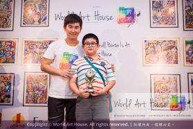 Malaysia Kota Damansara Petaling Jaya Kuala Lumpur Selangor Chinese New Year Charity Coloring Contest World Art House 世界艺术画室 and 1 Utama Shopping JinYeYe Effye Media C015