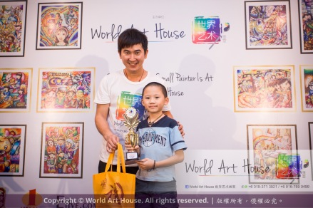 Malaysia Kota Damansara Petaling Jaya Kuala Lumpur Selangor Chinese New Year Charity Coloring Contest World Art House 世界艺术画室 and 1 Utama Shopping JinYeYe Effye Media C018