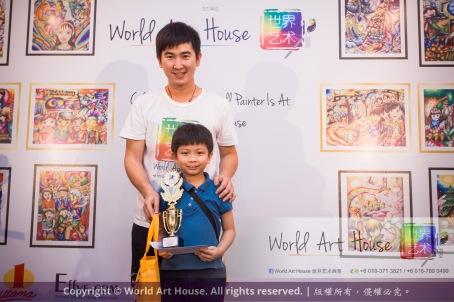 Malaysia Kota Damansara Petaling Jaya Kuala Lumpur Selangor Chinese New Year Charity Coloring Contest World Art House 世界艺术画室 and 1 Utama Shopping JinYeYe Effye Media C022