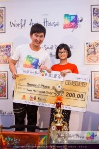 Malaysia Kota Damansara Petaling Jaya Kuala Lumpur Selangor Chinese New Year Charity Coloring Contest World Art House 世界艺术画室 and 1 Utama Shopping JinYeYe Effye Media C026