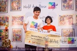 Malaysia Kota Damansara Petaling Jaya Kuala Lumpur Selangor Chinese New Year Charity Coloring Contest World Art House 世界艺术画室 and 1 Utama Shopping JinYeYe Effye Media C027