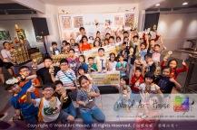 Malaysia Kota Damansara Petaling Jaya Kuala Lumpur Selangor Chinese New Year Charity Coloring Contest World Art House 世界艺术画室 and 1 Utama Shopping JinYeYe Effye Media C033