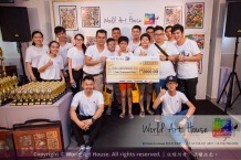 Malaysia Kota Damansara Petaling Jaya Kuala Lumpur Selangor Chinese New Year Charity Coloring Contest World Art House 世界艺术画室 and 1 Utama Shopping JinYeYe Effye Media C037