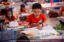 Malaysia Kota Damansara Petaling Jaya Kuala Lumpur Selangor Chinese New Year Charity Coloring Contest World Art House 世界艺术画室 and 1 Utama Shopping JinYeYe Effye Media A025