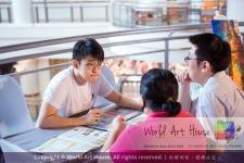 Malaysia Kota Damansara Petaling Jaya Kuala Lumpur Selangor Chinese New Year Charity Coloring Contest World Art House 世界艺术画室 and 1 Utama Shopping JinYeYe Effye Media C044