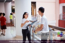 Malaysia Kota Damansara Petaling Jaya Kuala Lumpur Selangor Chinese New Year Charity Coloring Contest World Art House 世界艺术画室 and 1 Utama Shopping JinYeYe Effye Media C045