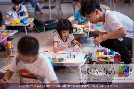 Malaysia Kota Damansara Petaling Jaya Kuala Lumpur Selangor Chinese New Year Charity Coloring Contest World Art House 世界艺术画室 and 1 Utama Shopping JinYeYe Effye Media A026