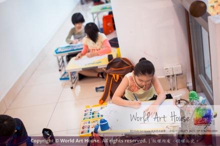 Malaysia Kota Damansara Petaling Jaya Kuala Lumpur Selangor Chinese New Year Charity Coloring Contest World Art House 世界艺术画室 and 1 Utama Shopping JinYeYe Effye Media C055