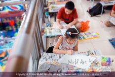 Malaysia Kota Damansara Petaling Jaya Kuala Lumpur Selangor Chinese New Year Charity Coloring Contest World Art House 世界艺术画室 and 1 Utama Shopping JinYeYe Effye Media C062