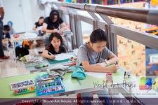 Malaysia Kota Damansara Petaling Jaya Kuala Lumpur Selangor Chinese New Year Charity Coloring Contest World Art House 世界艺术画室 and 1 Utama Shopping JinYeYe Effye Media C066
