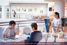 Malaysia Kota Damansara Petaling Jaya Kuala Lumpur Selangor Chinese New Year Charity Coloring Contest World Art House 世界艺术画室 and 1 Utama Shopping JinYeYe Effye Media C069