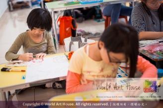 Malaysia Kota Damansara Petaling Jaya Kuala Lumpur Selangor Chinese New Year Charity Coloring Contest World Art House 世界艺术画室 and 1 Utama Shopping JinYeYe Effye Media C071