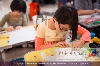 Malaysia Kota Damansara Petaling Jaya Kuala Lumpur Selangor Chinese New Year Charity Coloring Contest World Art House 世界艺术画室 and 1 Utama Shopping JinYeYe Effye Media C072