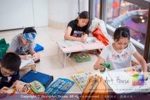 Malaysia Kota Damansara Petaling Jaya Kuala Lumpur Selangor Chinese New Year Charity Coloring Contest World Art House 世界艺术画室 and 1 Utama Shopping JinYeYe Effye Media C073
