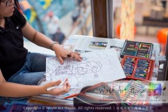 Malaysia Kota Damansara Petaling Jaya Kuala Lumpur Selangor Chinese New Year Charity Coloring Contest World Art House 世界艺术画室 and 1 Utama Shopping JinYeYe Effye Media C074