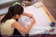 Malaysia Kota Damansara Petaling Jaya Kuala Lumpur Selangor Chinese New Year Charity Coloring Contest World Art House 世界艺术画室 and 1 Utama Shopping JinYeYe Effye Media C075